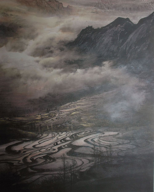 青年画家曾刚山水画新作欣赏  - song_yuliang - 宋玉亮的博客
